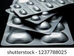 many medicines pills capsules... | Shutterstock . vector #1237788025