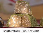 delicious nougat for the...   Shutterstock . vector #1237792885