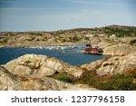 sea landscape of a rocky...   Shutterstock . vector #1237796158