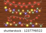 christmas and new year design ... | Shutterstock .eps vector #1237798522