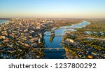 city of samara river and... | Shutterstock . vector #1237800292