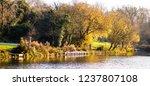 jubilee lake royal wootton... | Shutterstock . vector #1237807108