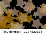 multicolored translucent stars... | Shutterstock . vector #1237823815