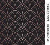 vector art deco pattern.... | Shutterstock .eps vector #1237824568