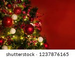 2019. christmas and new years... | Shutterstock . vector #1237876165