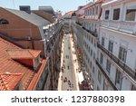 lisbon  portugal   june 15 2018 ... | Shutterstock . vector #1237880398