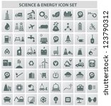 energy   technology icons vector | Shutterstock .eps vector #123790312