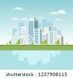 vector illustration of modern...   Shutterstock .eps vector #1237908115