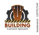 construction building logo...   Shutterstock .eps vector #1237917145
