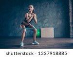 crossfit healthy lifestyle... | Shutterstock . vector #1237918885