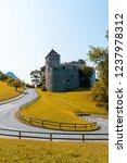 beautiful architecture at vaduz ... | Shutterstock . vector #1237978312