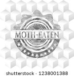 moth eaten retro style grey... | Shutterstock .eps vector #1238001388