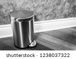 household trash and garbage... | Shutterstock . vector #1238037322