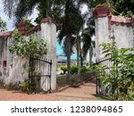 gate and old walls of the king... | Shutterstock . vector #1238094865