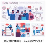 vector illustrations of the... | Shutterstock .eps vector #1238099065