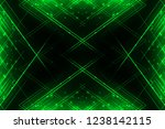 green and black shiny abstract... | Shutterstock . vector #1238142115