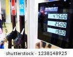 filling station for vehicles | Shutterstock . vector #1238148925