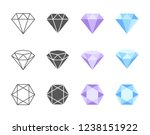 collection of colorful and... | Shutterstock .eps vector #1238151922