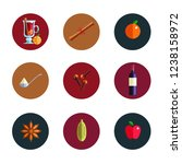 mulled  wine  infographic... | Shutterstock .eps vector #1238158972
