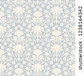 seamless victorian pattern....   Shutterstock .eps vector #1238164342