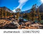 long lake views  bishop pass ... | Shutterstock . vector #1238170192