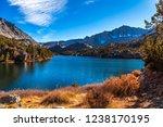 long lake views  bishop pass ... | Shutterstock . vector #1238170195
