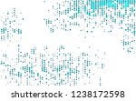 light blue vector layout with... | Shutterstock .eps vector #1238172598