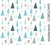 winter landscape pattern with...   Shutterstock .eps vector #1238212495