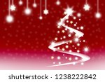 merry christmas and happy new...   Shutterstock . vector #1238222842