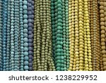 colorful beads background.... | Shutterstock . vector #1238229952