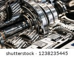 gearboxes and bearings in the... | Shutterstock . vector #1238235445
