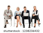 professional businesspeople... | Shutterstock . vector #1238236432