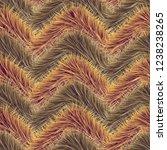 seamless of beige vector furry...   Shutterstock .eps vector #1238238265
