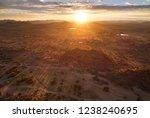 aerial photo of sunrise over... | Shutterstock . vector #1238240695