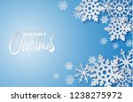 merry christmas. design with... | Shutterstock .eps vector #1238275972