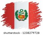 flag of peru  republic of peru. ...   Shutterstock .eps vector #1238279728