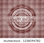 disappointing red emblem or... | Shutterstock .eps vector #1238294782