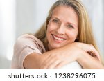 portrait of happy senior woman... | Shutterstock . vector #1238296075