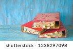 heap of messy  old dusty file... | Shutterstock . vector #1238297098