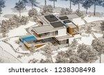 3d rendering of modern cozy... | Shutterstock . vector #1238308498