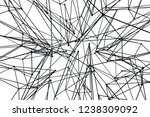 atomic abstract design on white ... | Shutterstock . vector #1238309092