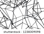 atomic abstract design on white ... | Shutterstock . vector #1238309098