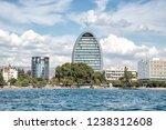 limassol city waterfront... | Shutterstock . vector #1238312608