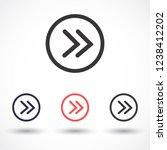 arrow vector icon 10 eps | Shutterstock .eps vector #1238412202