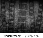 great film strip for textures... | Shutterstock . vector #123842776