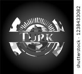 turk written on a grey... | Shutterstock .eps vector #1238433082