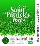 banner   saint patrick's day....   Shutterstock .eps vector #1238454475