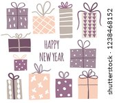 design elements or poster with... | Shutterstock .eps vector #1238468152