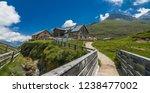 franz senn hutte  2 147 m asl ... | Shutterstock . vector #1238477002