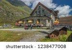 franz senn hutte  2 147 m asl ... | Shutterstock . vector #1238477008